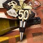 50th Birthday Wine Stopper Party Favors