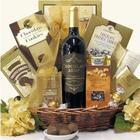 Sinful Chocolate Valentine's Day Wine Gift Basket
