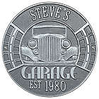 Personalized Pewter and Silver Vintage Car Aluminum Garage Plaque