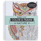 Adult's Color & Frame Nature Coloring Book