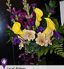 Wonderful Thanks Fusion Floral Bouquet