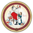 Norman Rockwell 2017 Annual Heirloom Porcelain Christmas Plate
