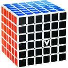 V-Cube 6 White Flat Multicolor Cube Puzzle