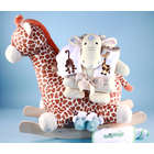 Plush Giraffe Rocker Gift Set