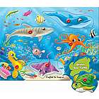 Underwater World Wooden Peg Puzzle