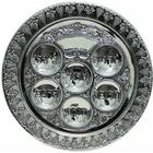 Silver Plated Passover Seder Plate