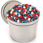1 Gallon of Patriotic Popcorn in Tin