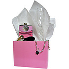 "Valentine's Day Personalized ""Her Hearts Content"" Gift Set"