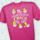 Crack Me Up Personalized T-Shirt