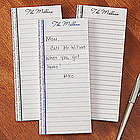 Personalized Family Themed Notepads