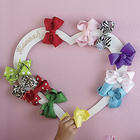 Hair Bow Holder Personalized Wreath