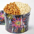 Fireworks Caramel & White Cheddar 2 Gallon Popcorn Gift Tin