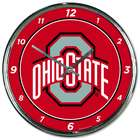 Ohio State University Chrome Plated Clock