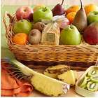 Fresh and Dried Tropical Fruit Gift Baskets