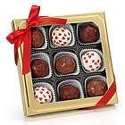 Romantic Hearts Belgian Truffle Cake Bons Gift Box