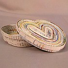 Recycled Paper Heart Keepsake Box