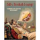 Bill's Hookah Lounge Personalized Print