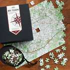 Personalized USGS Map Puzzle