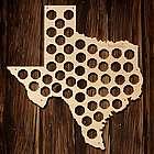 Texas Beer Cap Map