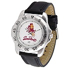 Arizona State Sun Devils Sport Leather Band Men's Watch