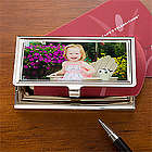Personalized Photo Business Card Holder