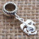Marines Sterling Silver Dangle Charm Bead