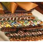 Hot Rods of Chocolate and Candy Coated Pretzels