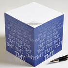 Optic Name Personalized Paper Note Cube