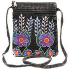Folk Art Crossbody Passport Bag