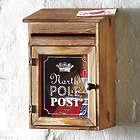 North Pole Post Mailbox