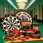 Deluxe Bulls-Eye Dartboard and Gourmet Gifts Set