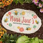 "Grandma's Growing Garden Personalized 12"" Garden Stone"