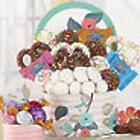 Mixed Nuts and Sweets Floral Gift Box