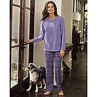 Fair Isle Microfleece Pajamas