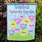 Personalized Tulip Garden Flag