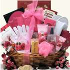 Rose Spa Haven Bath and Body Gift Basket