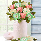 Collector's Edition Cookie Jar with Cookie Bouquet