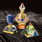 Crystal Carousel Perfume Bottle