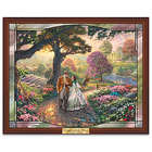 Thomas Kinkade Gone With the Wind Stained-Glass Wall Decor