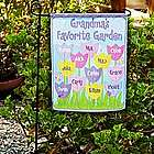 Personalized Tulip Garden Flag with Stand
