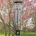 Footprints on Our Hearts Memorial Wind Chime