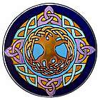 Tree of Life Stained Glass Window Hanging