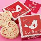 For My Tweetheart Lovebird Cookie Card