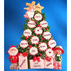 Family Tree Tabletop Christmas Ornament