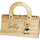 Personalized Tropical Bamboo Handbag