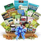 Wholesome Treats and Snacks Gourmet Gift Basket
