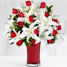 Deluxe Always & Forever with Cherry Vase & Customizable E-Card