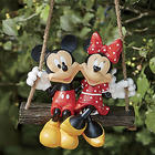 Mickey and Minnie Tree Swing Figures