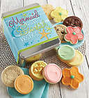 Assorted Cookies in Mermaid Kisses, Starfish Wishes Gift Tin