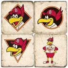 St. Louis Cardinals Mascot Italian Marble Coasters